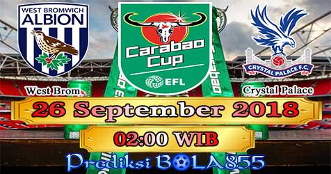 Prediksi Bola855 West Brom vs Crystal Palace 26 September 2018