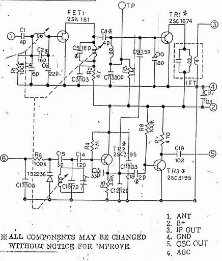 fm tuner circuit using tda7000 electronic projects circuits
