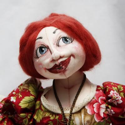 Prudence Cloth art Doll