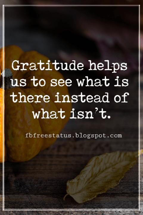 Inspirational Quotes For Thanksgiving,