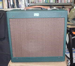 The picture of handwired amplifier, GAMPS Browny G3