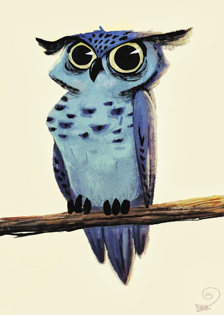 Franco' Blue Owl
