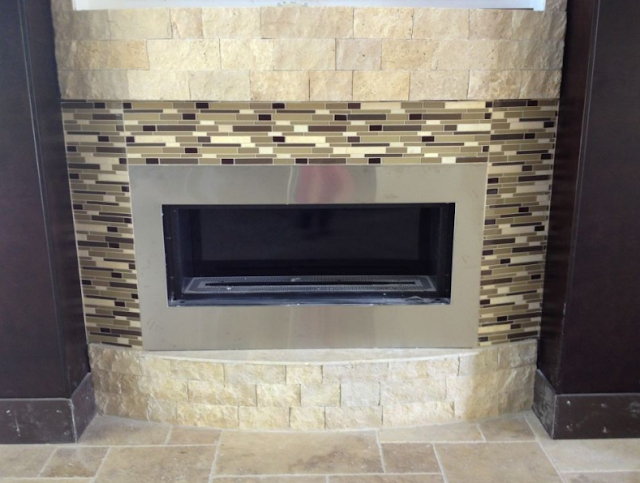 Fireplace Tiling Designs