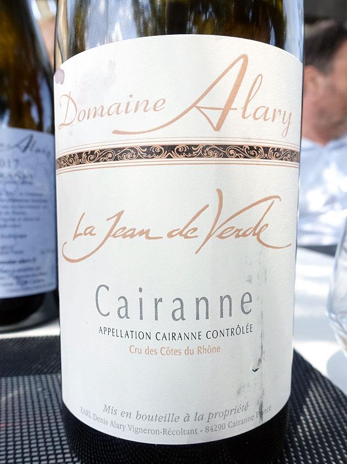 Domaine Alary La Jean de Verde Cairanne 2015 (91 pts)
