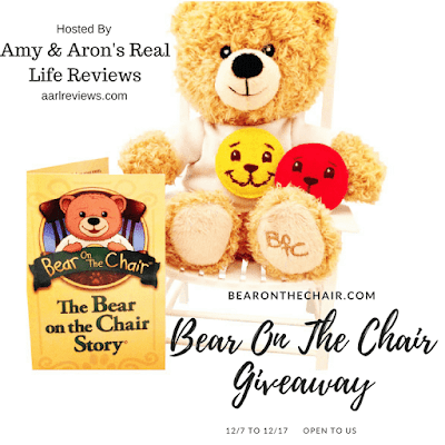 Enter the Bear On The Chair Giveaway.Ends 12/17