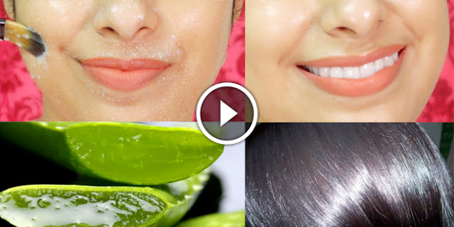 How To Use Aloe Vera To Get Bright Glowing Skin And Silky Hair!