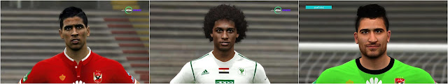 PES 2017 Raouf Benguit and Mohamed Grendo Face by Prince Shieka
