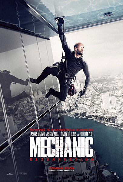 Sinopsis Film Mechanic: Resurrection (2016) - Jason Statham, Jessica Alba