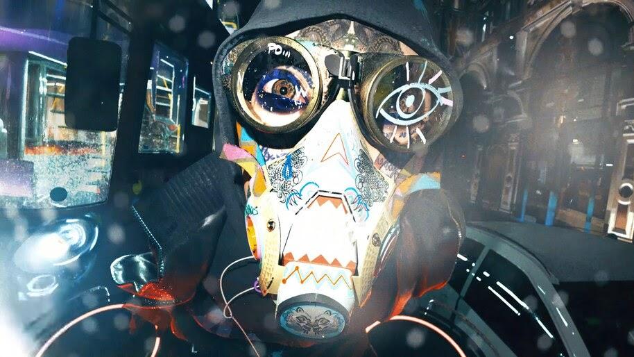 Watch Dogs Legion, Mask, 4K, #7.2239
