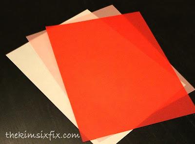 3d vellum valentine garland tutorial the kim six fix