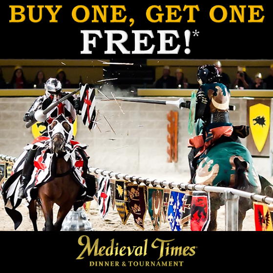 Medieval Times Dinner & Tournament deals