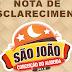 Prefeitura de Conceição do Almeida divulga nota sobre realização do São João