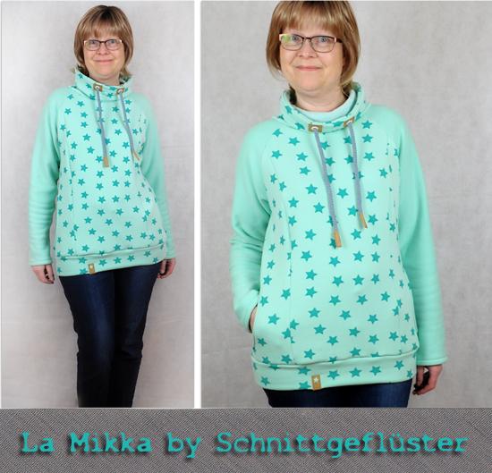 Raglanhoodie La Mikka by Schnittgeflüster