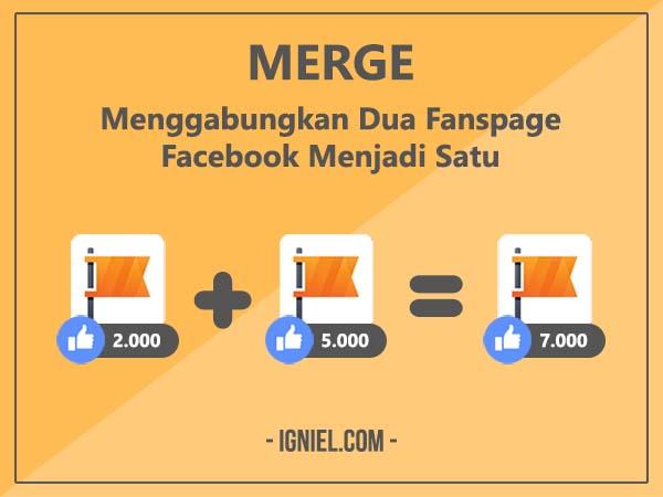 Cara Menggabungkan Dua Fanspage Facebook Menjadi Satu