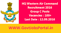 Air Command Recruitment 2016