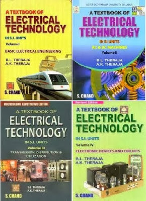 Download Electrical Technology by B L Thereja Volume-1,2,3,4 Book Pdf