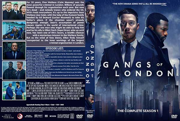 Gangs Of London Season 1 Dvd Cover Cover Addict Free Dvd Bluray Covers And Movie Posters