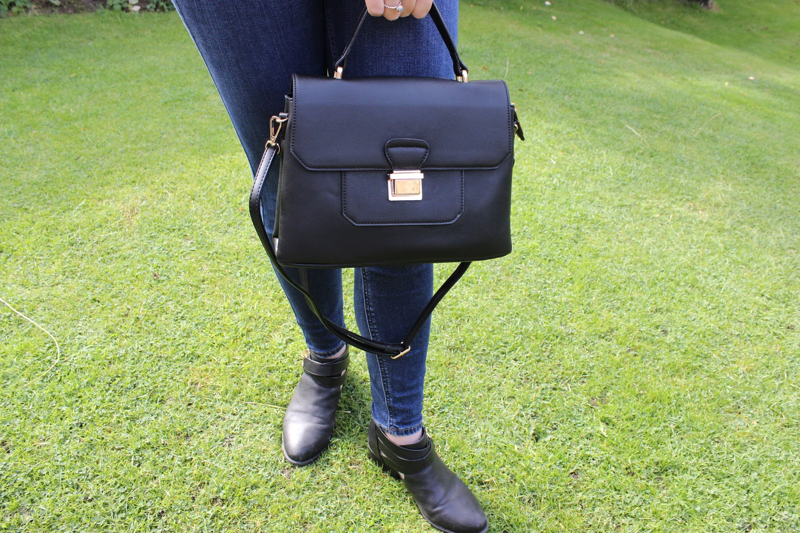 Black asos Tote Bag