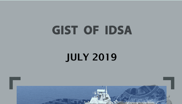 GIST of IDSA July 2019