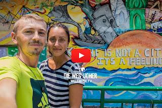 WELTREISE.TV Die wegsucher arkadij und katja reisen durch Indien Kochi Kerala Indien