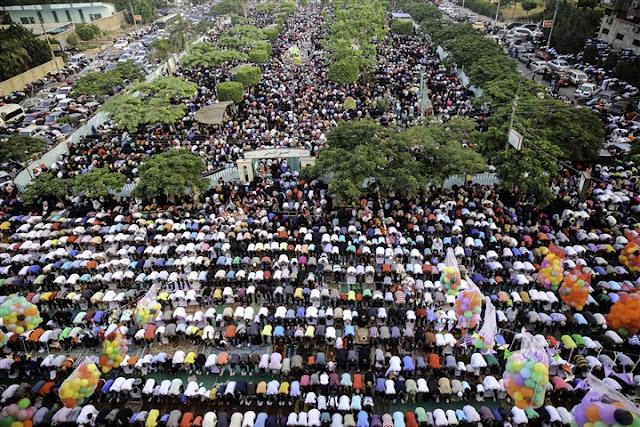 مواعيد صلاة عيد الفطر المبارك في مصر 2017 بجميع المحافظات