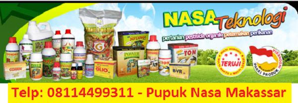 Agen Pupuk Nasa di Makassar, Distributor Pupuk Organik Nasa