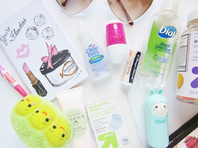 What's in my Bag & Pouch