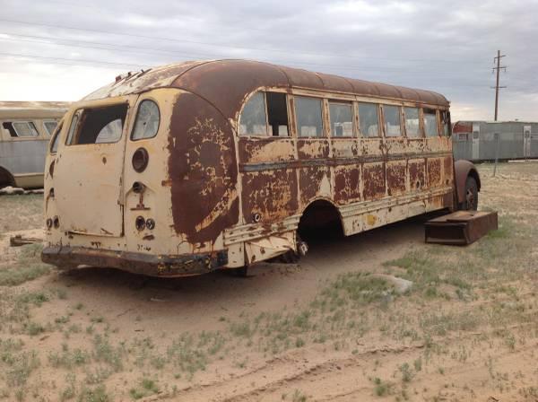 Restoration Project Cars 1941 International School Bus