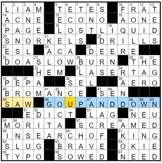 Rex Parker Does The Nyt Crossword Puzzle Rabbit S Tail Thu 10 25 18 Dutch Artist Jan Van Der Stage Name Of Rapper Sandra Denton Muslim Ascetic
