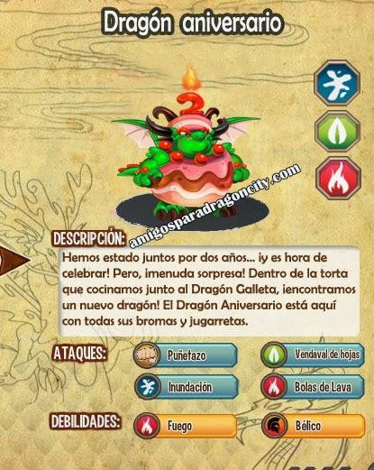 imagen de las caracteristicas del dragon aniversario