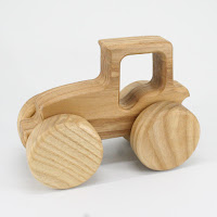 TR05, Tractor V, Lotes Wooden Toys