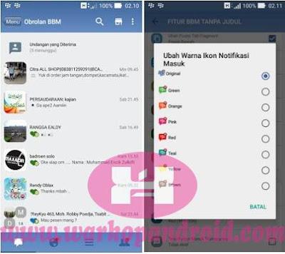 Download BBM Mod IOS v 2.12.0.9 Apk New