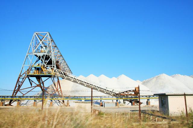 sale, saline, montagna di sale, industria di sale
