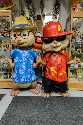 The Chipmunks at the Barker Museum