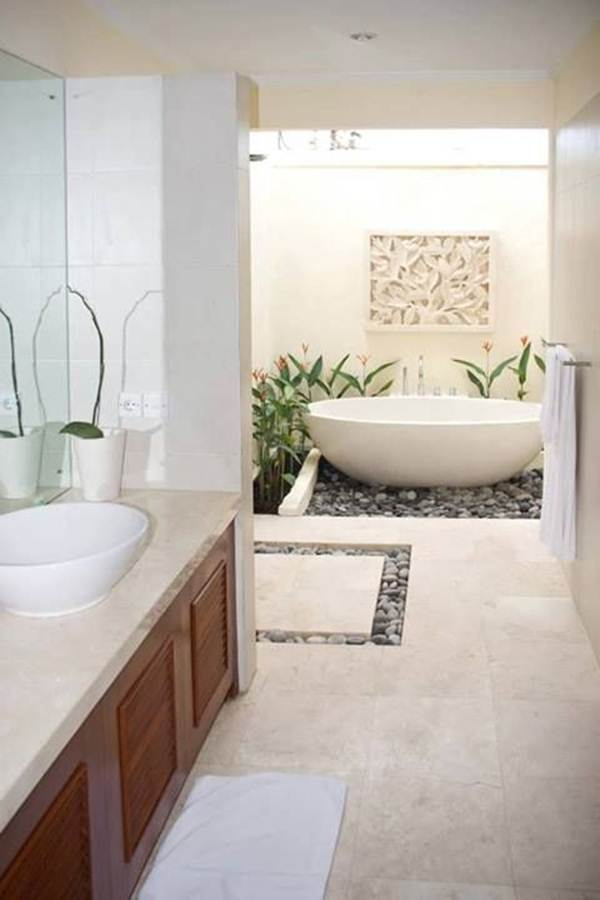 Keys For Decorating a Zen Style Bathroom 3