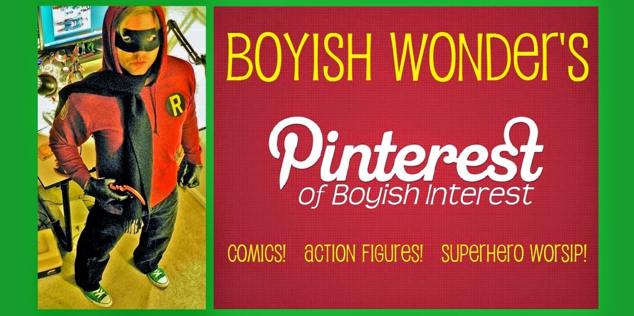 Boyish Wonder on Pinterest!