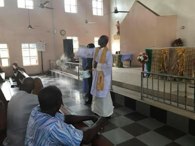 Ozubulu Catholic Church rededicated after bloody attack