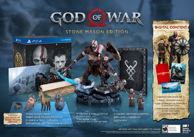 Espectacular edición coleccionista de God of War