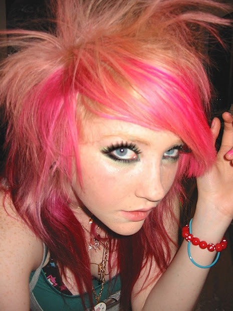 crazy emo hairstyles haircuts