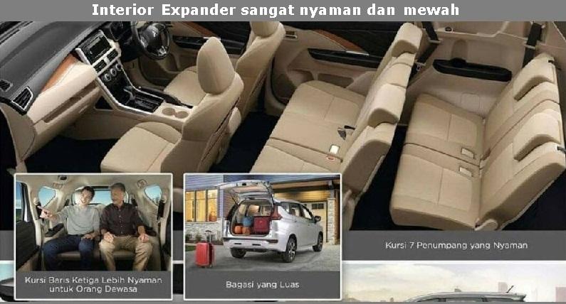 Kabin dan Akomodasi Mitsubishi Xpander Tipe Ultimate