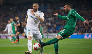 Leganes vs Real Madrid Live Streaming online Today 21.02.2018 La Liga