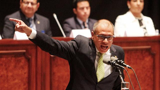 La Asamblea Nacional de Ecuador autoriza el enjuiciamiento penal al vicepresidente Jorge Glas