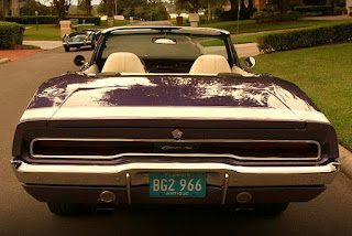 1970 Dodge Charger 500 Sports Convertible Rear