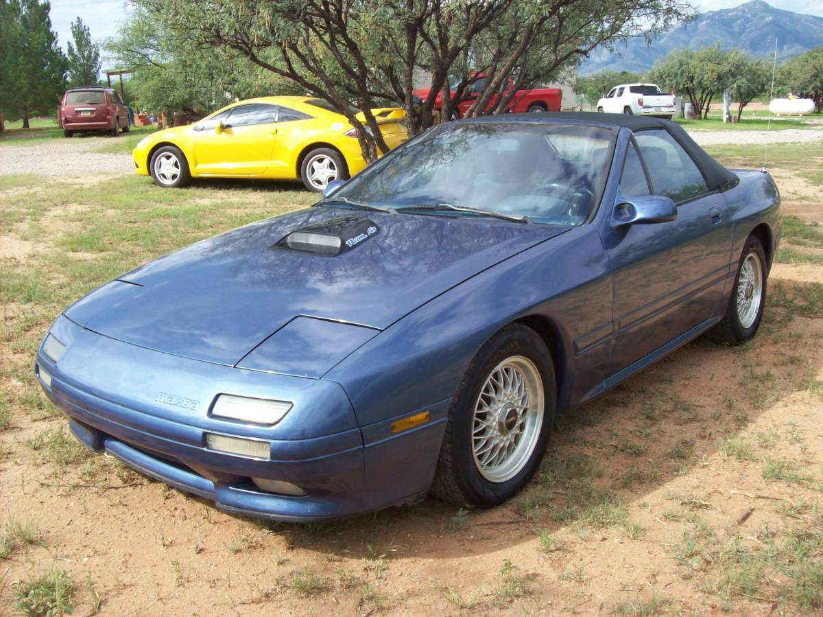Daily Turismo V8 Powered 1989 Mazda Rx 7 Convertible