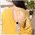 The stylish mirror pendant of the blouse's blouse, everyone will see it