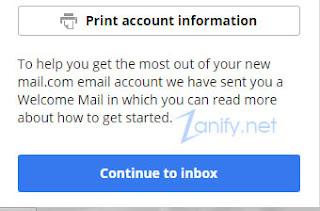 Cara Membuat Email di Mail.com