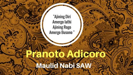 Contoh Panoto Adicoro Maulid Nabi Muhammad SAW