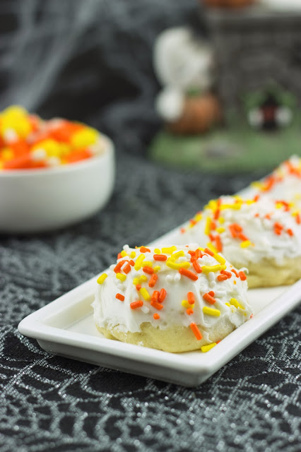 Almond Cookies   Cooking on the Front Burner #halloweencookies