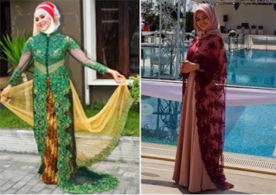 Model Baju Kebaya Untuk Orang Gemuk Terbaru 2015