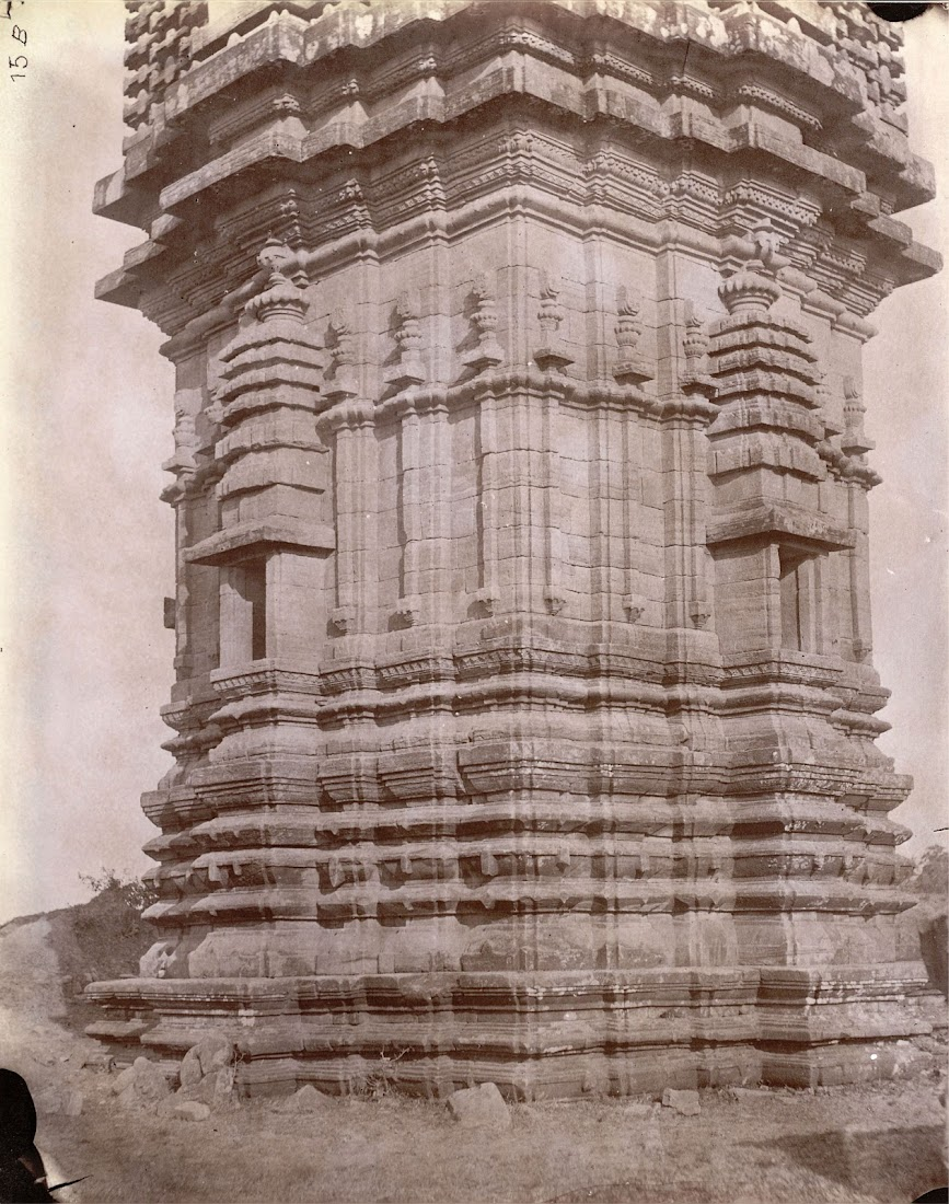 Panchanana Temple, Barakar, Burdwan District, Bengal - 1872